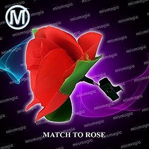 M is magic Magic Trick match to rose