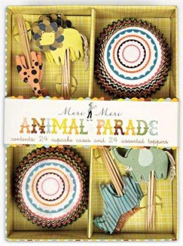 Meri Meri Animal Parade Cupcake Kit