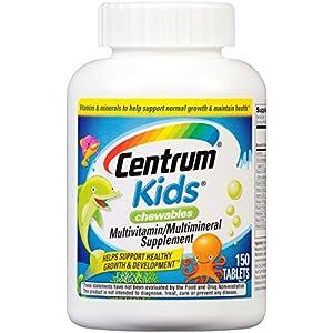 Centrum Kids Multivitamin/Multimineral Supplement