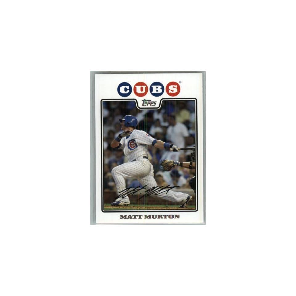 Matt Murton / MLB Trading Card   In Protective Display Case