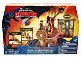 How To Train Your Dragon Movie Playset Battle & Collapse Catapult Includes Snoutlout Figure Image