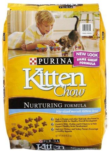 Purina Kitten Chow Nurturing Formula Dry Cat Food 14lb