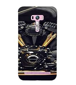 PrintVisa Exotic Bike Design 3D Hard Polycarbonate Designer Back Case Cover for Asus Zenfone Selfie