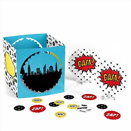 BAM! Superhero - Party Table Decorating Kit