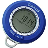 Docooler Sunroad SR108N 8 In 1 Mini LCD Backlight Digital Altimeter Climb Rate Barometer Thermometer Compass Weather...