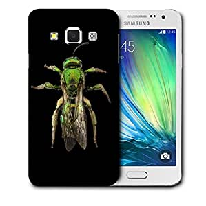 Snoogg Green Mosquito Designer Protective Back Case Cover For SAMSUNG GALAXY A3
