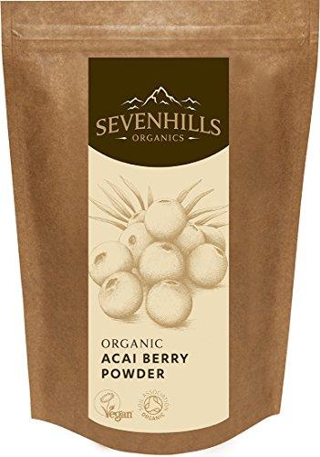Sevenhills Organics Acai-Beeren-Pulver Bio 50g
