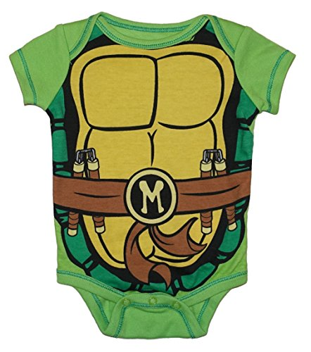 Teenage Mutant Ninja Turtles Michelangelo Baby Boys Dress Up Bodysuit Outfit