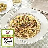 MCC パスタソース  ( スパゲティ ソース ) きのこソース 〈 バター 醤油風 〉 5食 、 フリーズドライ ねぎ 5g セット