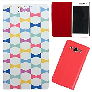 DooDa - For HTC One M8 PU Leather Designer Fashionable Fancy Flip Case Cover Pouch With Smooth Inner Velvet