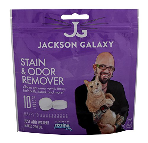 Jackson galaxy cat stain and odor eliminator by fizzion for Jackson galaxy amazon