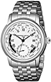 Frederique Constant Mens FC718MC4H6B World Timer Stainless