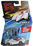 Hot Wheels Speed Racer 1:64 Mach 6 Car with Jump Jacks
