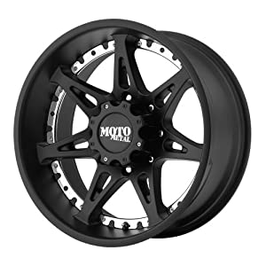 Moto Metal  MO961 Wheel with Satin Black Finish (18×10″/6×5.5″)