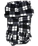 Mixed Style 3 Piece Fleece Hat, Scarf & Glove Women's Winter Set