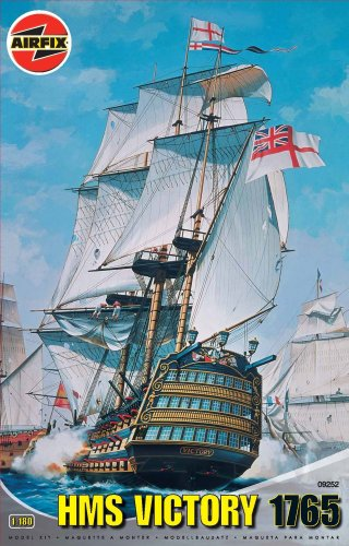 Airfix A09252 HMS Victory 1:180 Scale Series 8 Plastic Model Kit