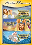 Religious Triple Feature: The Last Supper, Crucifixion And Resurrection/The Story Of Moses/The Miracle Of Jesus DVD