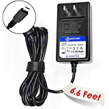 "T-Power® (6.6 ft cable) 5v 3-Amp 3A High Power Quick Charger for HP Chromebook 11-1101 11-2010nr 11.6"" ,HP Pavilion x2 Detachable 10-k, 10-k010nr, 10-k020nr, 11-1101us, 11-f3x85ut, 11-1101 X2 F2j07aa#aba, G3"