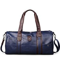 Moiré Insignia Duffel Bag Modern Leisure Messenger Travel