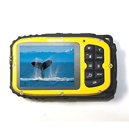 PowerLead Gapo G051 2.7 Inch LCD Cameras16 MP Digital Camera Underwater 10m Waterproof Camera+ 8x Zoom(yellow) (Best Underwater Digital Camera compare prices)