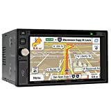 "Jensen 6.2"" Navigation Receiver DVD CD Touchscreen Monitor VX7020"