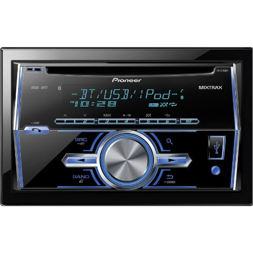 Pioneer In-Dash Double Din Car Cd Receiver With Am/Fm Tuner, And Built-In Bluetooth Hands Free For Calling And Audio Streaming, Matrix Dj Inspired Technology, Plays Cds, Cd-Rs, And Cd-Rws, Mp3'S, Front Usb Port, Variable Color Illumination, Remote Control