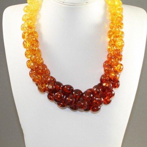 Marish Amber Imitation Necklace