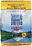 Dick Van Patten's Natural Balance Limited Ingredient Diets Potato and Duck Formula Small Breed Bites Dry Dog Food, 12-Pound Bag