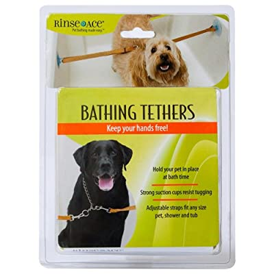 Rinse Ace 4058 Pet Bathing Tethers with 2 Straps