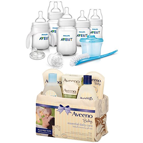 [[The Best For Baby] Philips AVENT Classic + Newborn Starter Set With Aveeno Baby Mommy & Me Gift] (Three Little Pigs Halloween Costume Ideas)