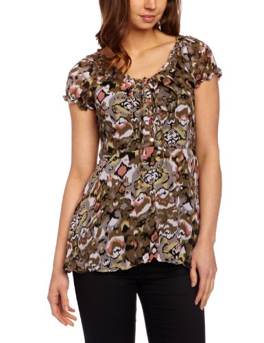 B-Young Farah-Topp Women's Blouse Canyon Sunset Size 12