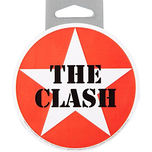 C&D Visionary The Clash Star Logo Sticker - 1