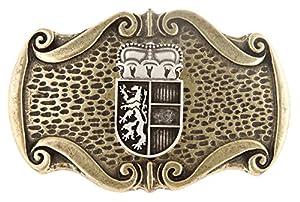 VERI Salzburger Wappen Buckles Trachten Gürtelschnalle Trachtengürtel Österreich Schnalle zum Wechseln : )