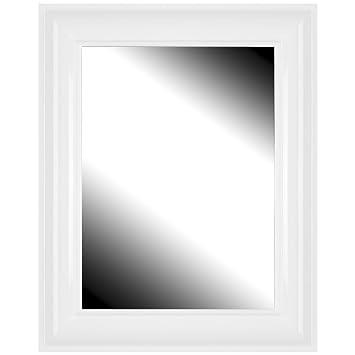 M/étal Acier 36cm MSV 140659 Miroir Mural INOX diam