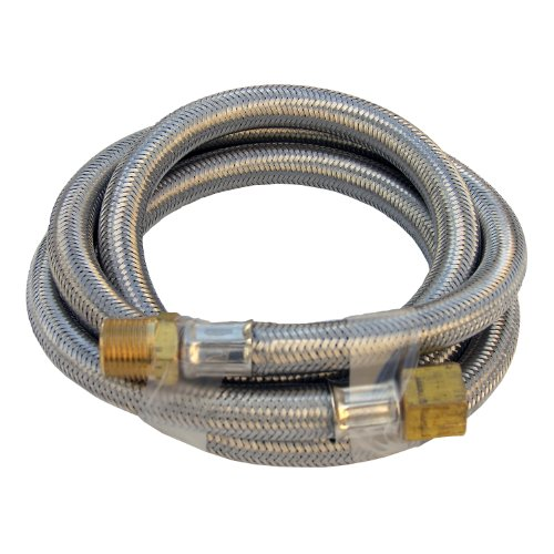 Lasco 16-9191 Stainless Steel Propane 5-Feet Extension Hose with 3/8-Inch Male Pipe Thread (Propane Torch Extension compare prices)