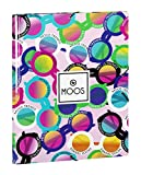 Moos - Carpeta folio, con solapas y gomas, diseño gafas (Safta 511523068)