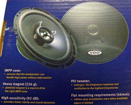 VDO SSP 1721 Auto-Lautsprecher