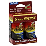 5-Hour Energy Energy Shot, Pomegranate, 2 - 1.93 fl oz (57 ml) bottles