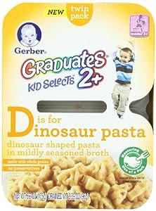 Gerber Graduates Kid Selects Pasta, Dinosaur意大利面SS后$21.84
