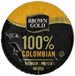 Brown Gold 100% Colombian Coffee Caps...