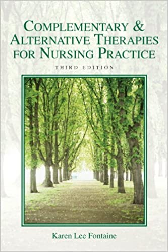 Complementary and alternative therapies for nursing practice pdf