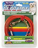 Four Paws Puppy Tie-Out Cable, 15-Feet