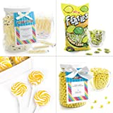 Yellow Candy Kit - Party Candy Buffet Table