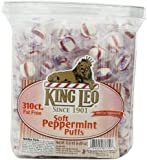 King Leo Soft Peppermint Puffs 310 Count Fat Free 3 Pound 9.5 Ounce
