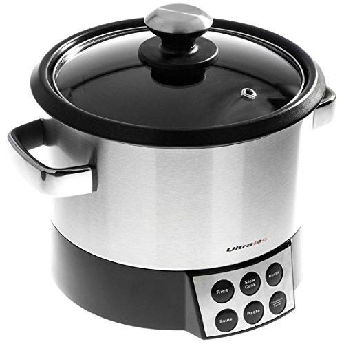 Ultratec robot risorette 6 in 1 con sbattitore per saltare cucinare in modo delicato e - Robot per cucinare e cuocere ...