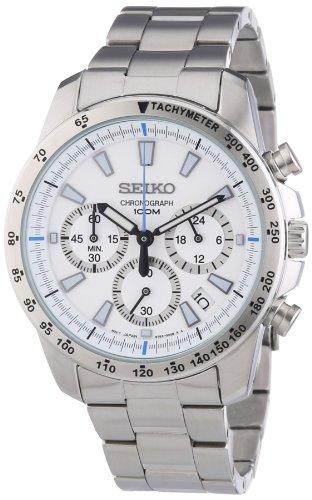 c28f8602ac0 Best buy Seiko SSB025 men s Chronograph stainless Steel Case Watch ...