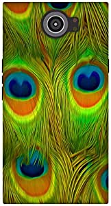The Racoon Grip Bright Feathers hard plastic printed back case / cover for Blackberry Priv