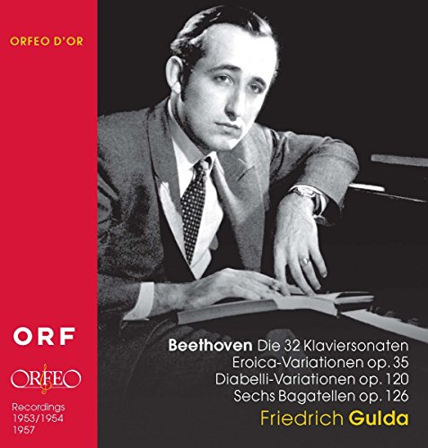 Beethoven: 32 Piano Sonatas / Eroica Variations / Diabelli Variations / Bagatelles (Friedrich Gulda Beethoven Sonata compare prices)