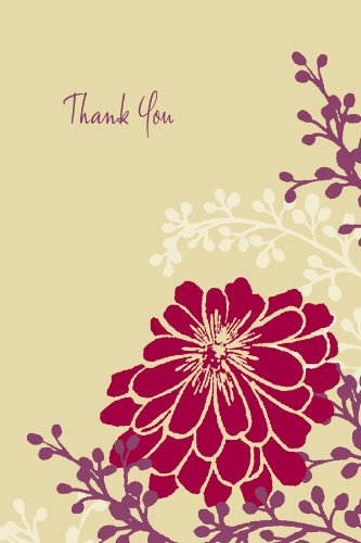 Silhouette Thank You Notes Includes 12 Cards