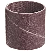 "3M  Cloth Band 341D, 1"" Diameter x 1"" Width, P120 Grit, Brown (Pack of 100)"